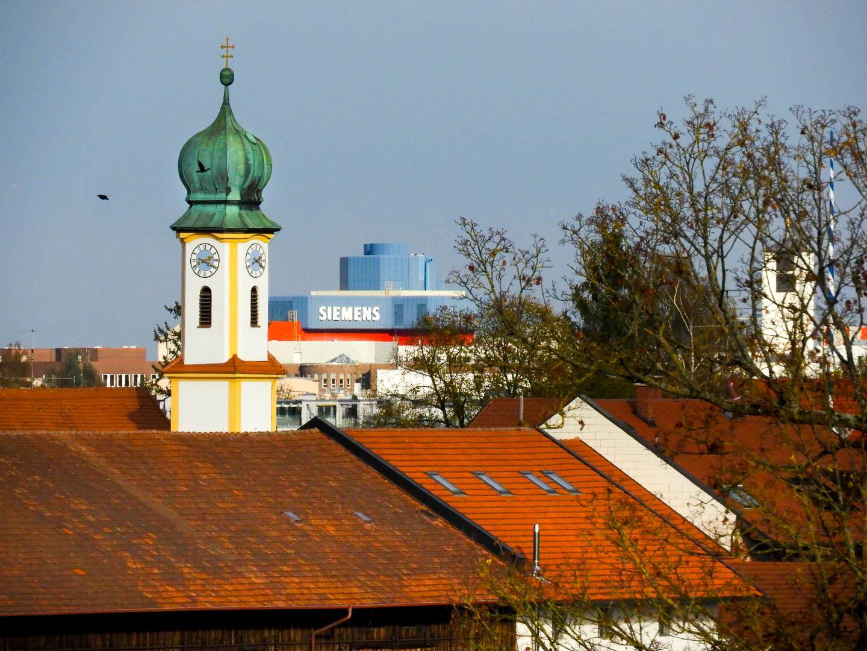 St. Georg und Siemens