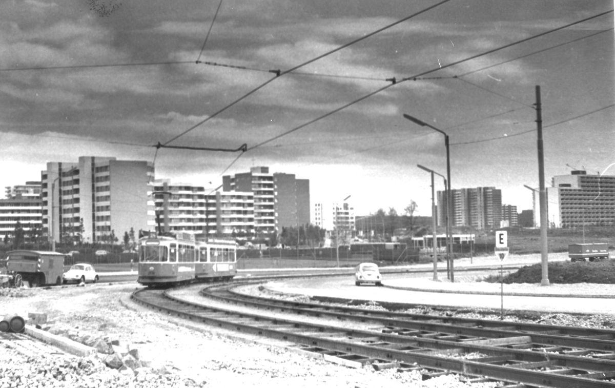 30.09.1973 Verlängerung Neuperlach Nord - Neuperlach Zentrum