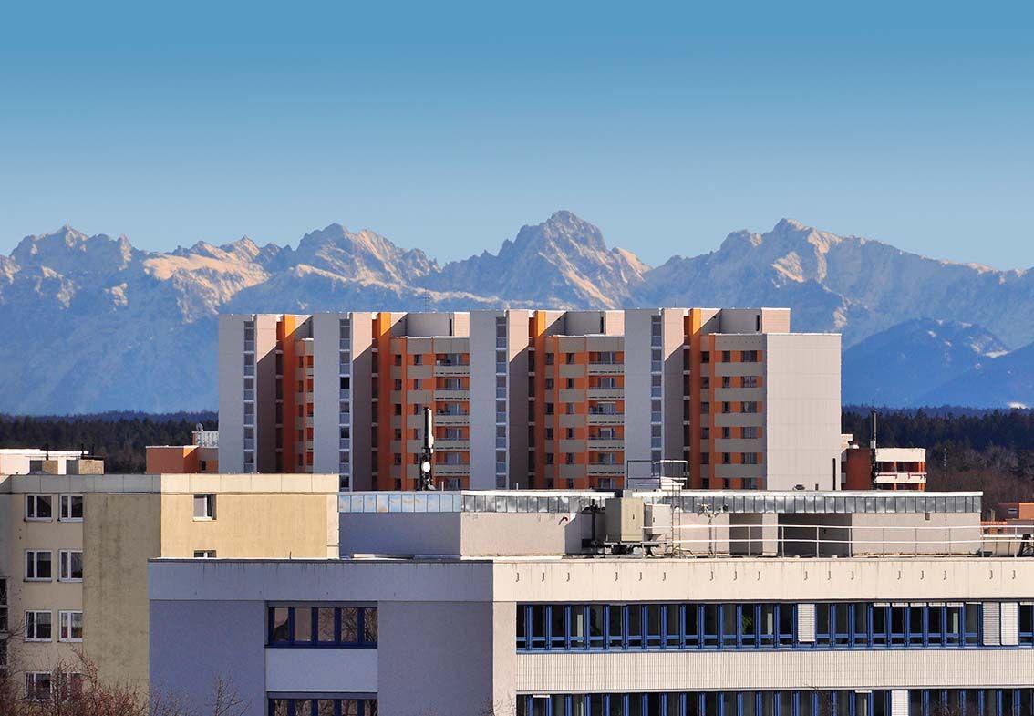 Neuperlach Alpenpanorama