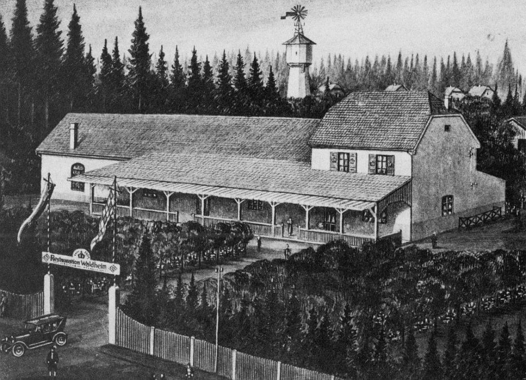 Leiberheim in Waldperlach 1920