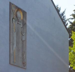 St.-Augustinus-Kirche, Relief
