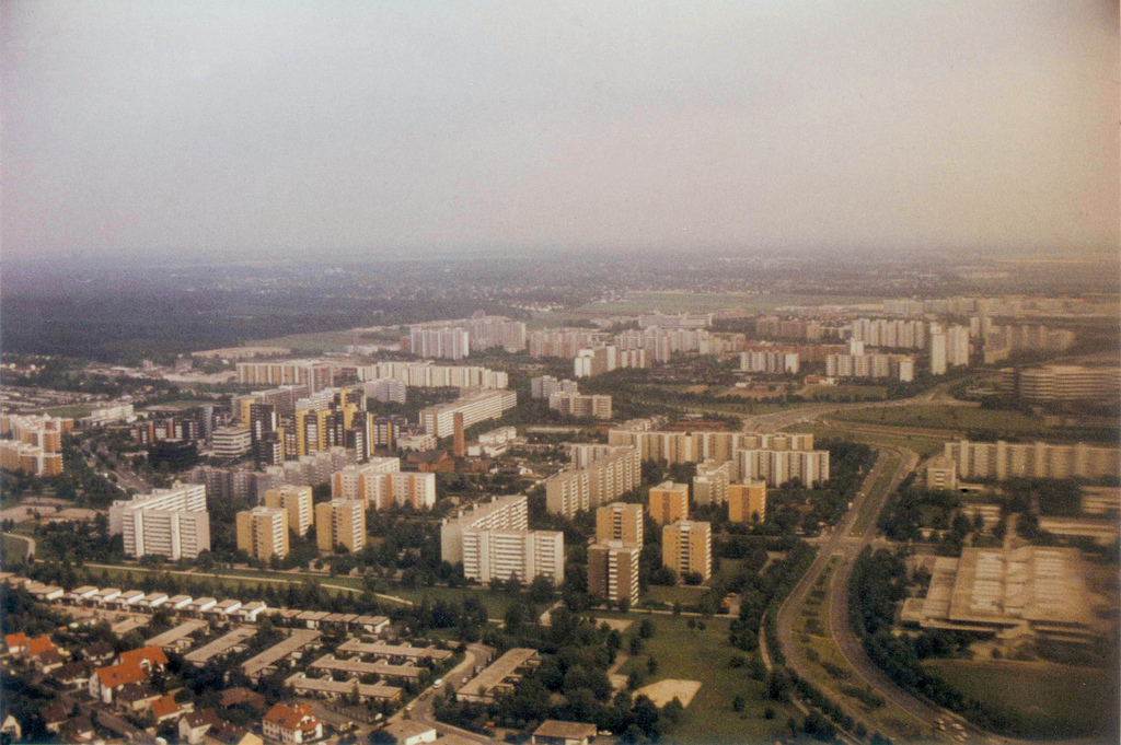 Luftbild Neuperlach Nord ca. 1984