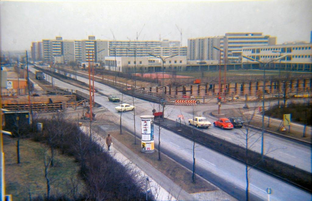 U-Bahnbau Quiddestraße/Albert-Schweitzer-Straße