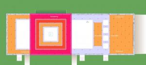 Plett-Zentrum Grundriss Zeichnung