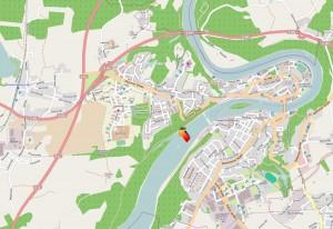 Umgebungskarte Wasserburg am Inn
