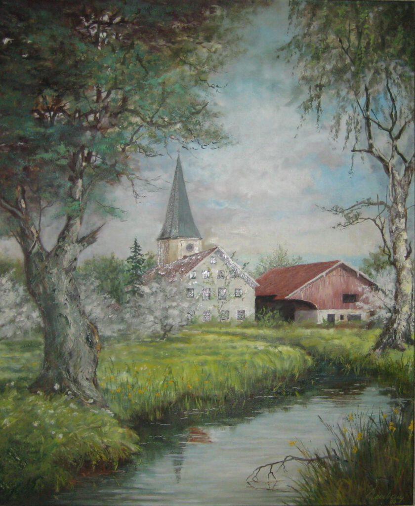 Die Bachmühle in Taufkirchen