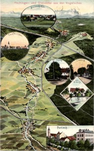 Ansichtskarte Hachinger Tal
