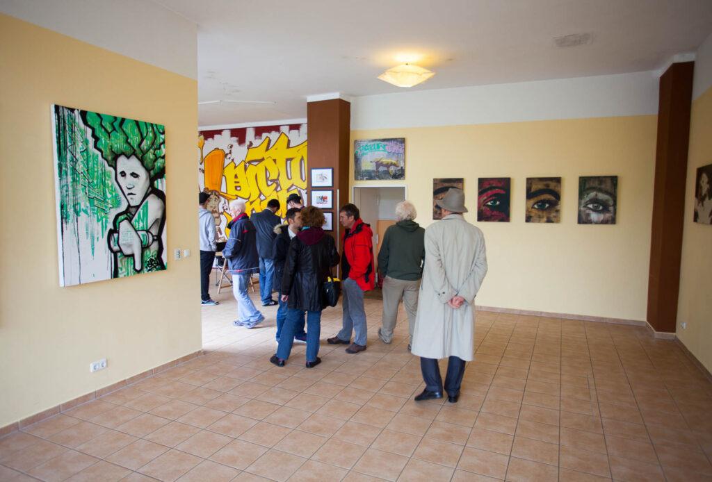CAZ132 eröffnet Atelier im Quidde-Zentrum