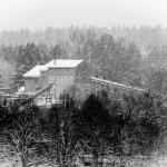 Kieserk Piederstorfer im Schneetreiben