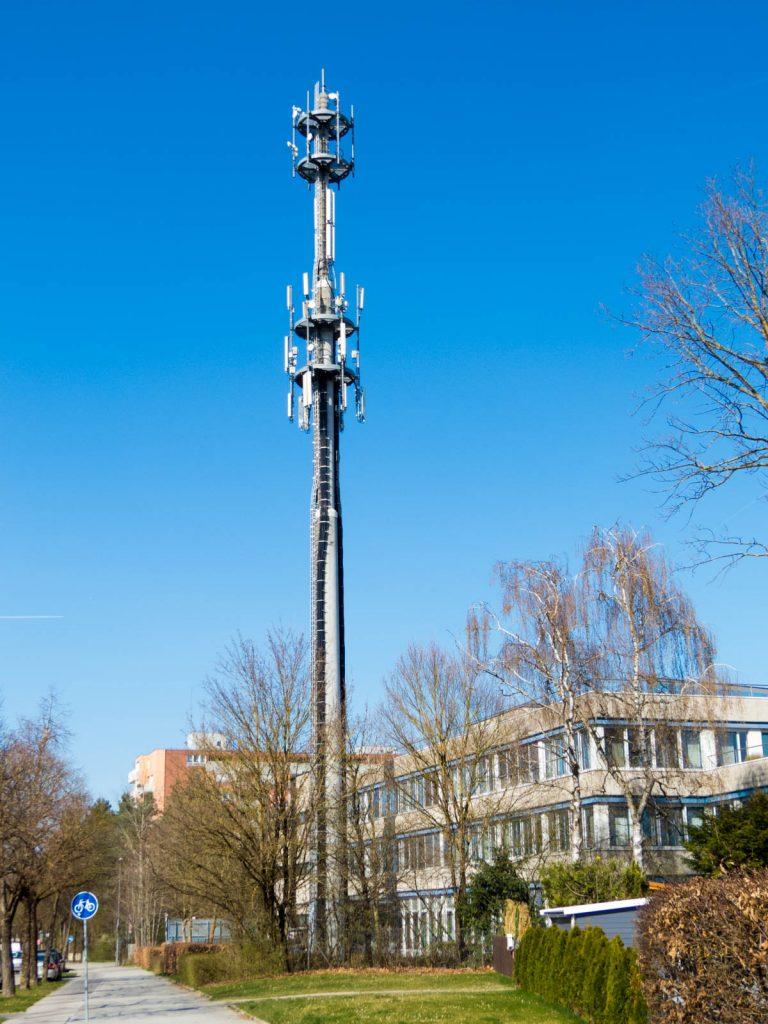 Telekom-Funkmast Heinrich-Lübke-Straße 27