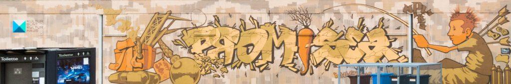 Graffiti am Kulturhaus