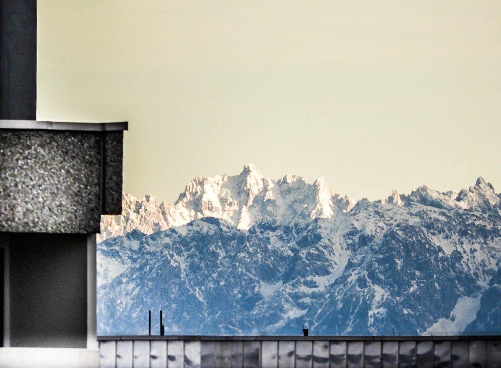 Alpen bei Föhn