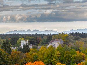 Piederstorfer & Alpen im Herbst