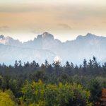Alpen im Herbst