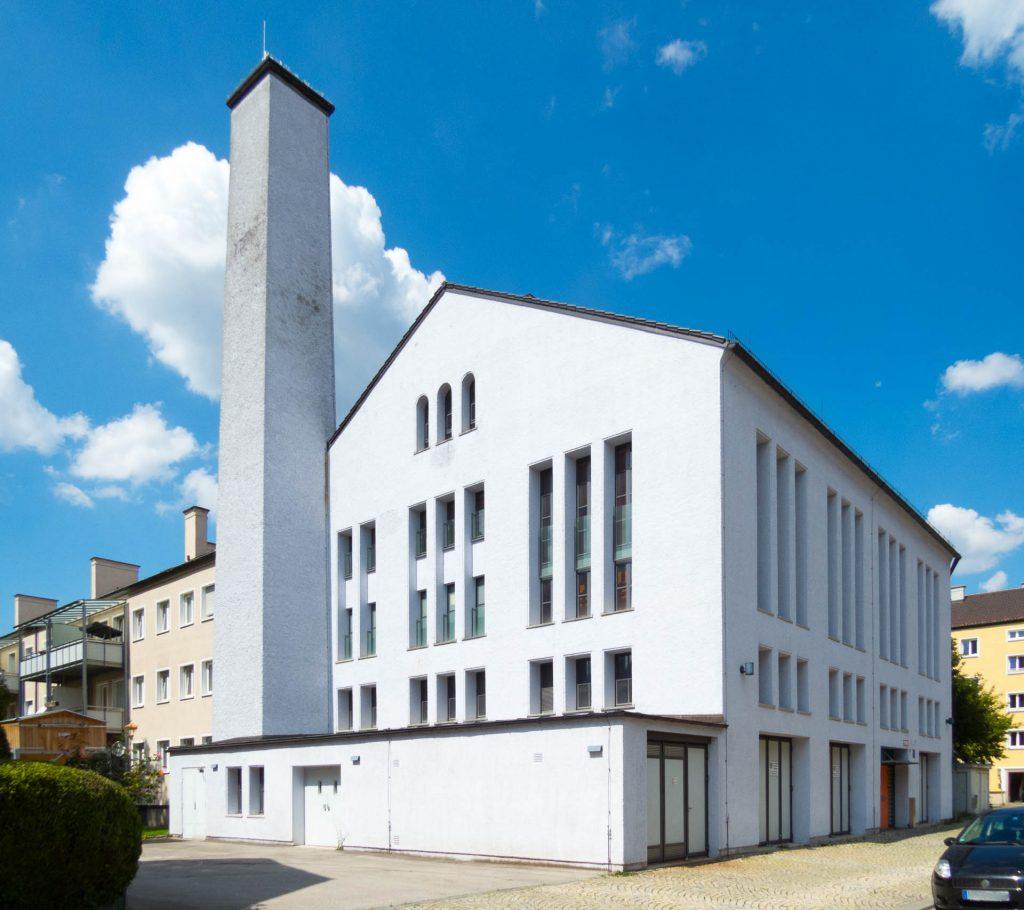 Hackschnitzel-Heizkraftwerk Ramersdorf