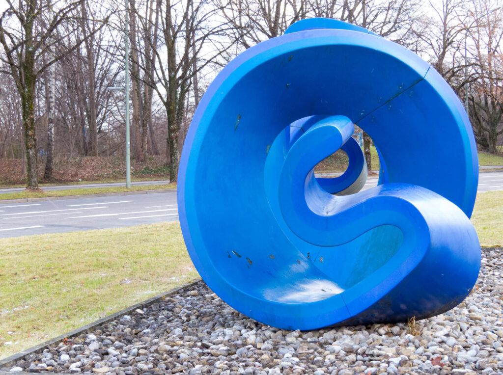 Blaue Spirale Sanierung