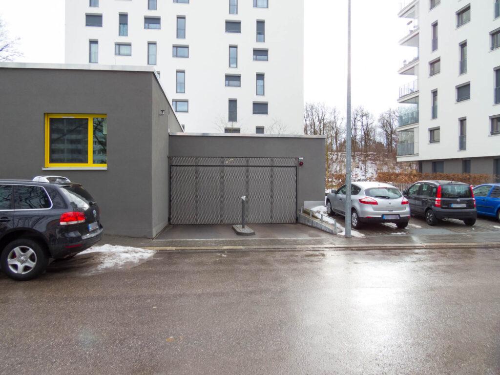 Neue Tiefgarage Nawiaskystraße