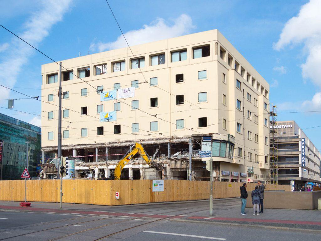 Abriss Hotel Königshof