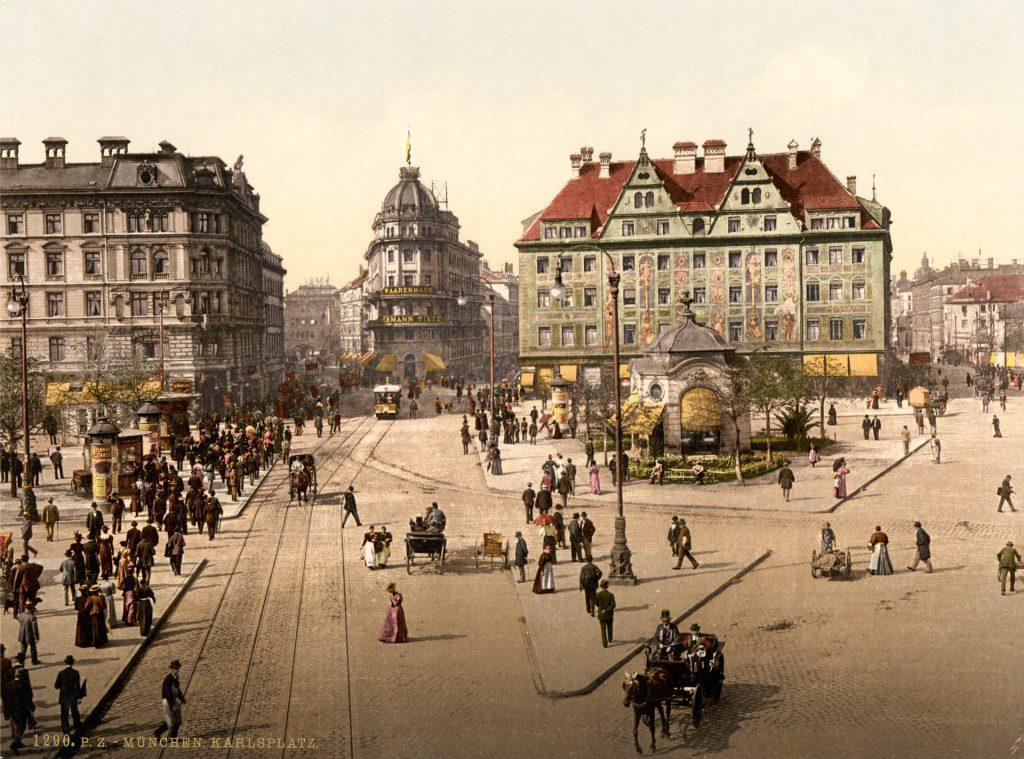 Hotel Königshof um 1900