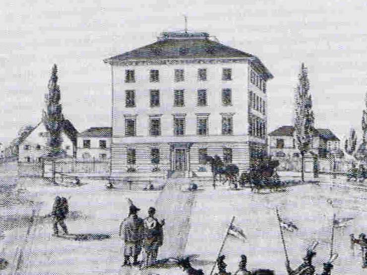 Hotel Königshof – Vorherrhaus – Vergrößerung