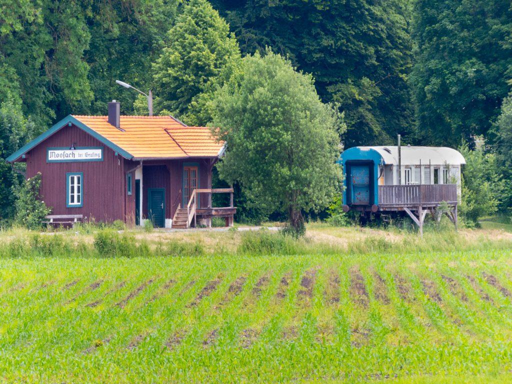 Alter Bahnhof Moosach (bei Grafing)