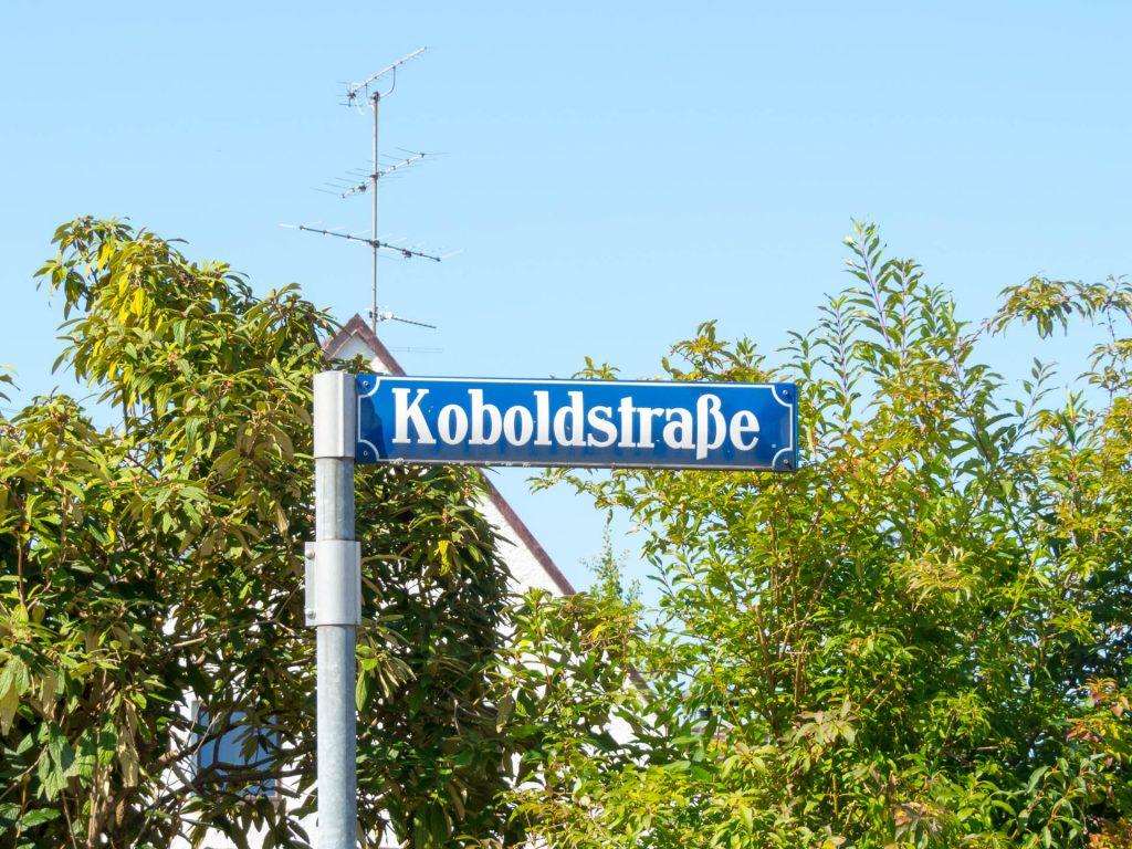 Waldperlach, Koboldstraße