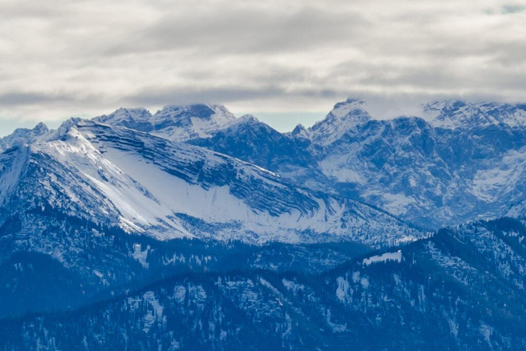 Berge vom Brauneck aus