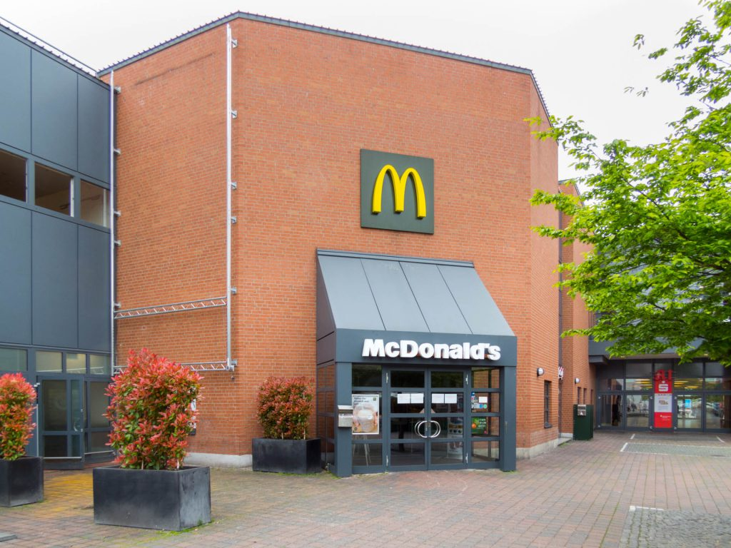 McDonald's pep