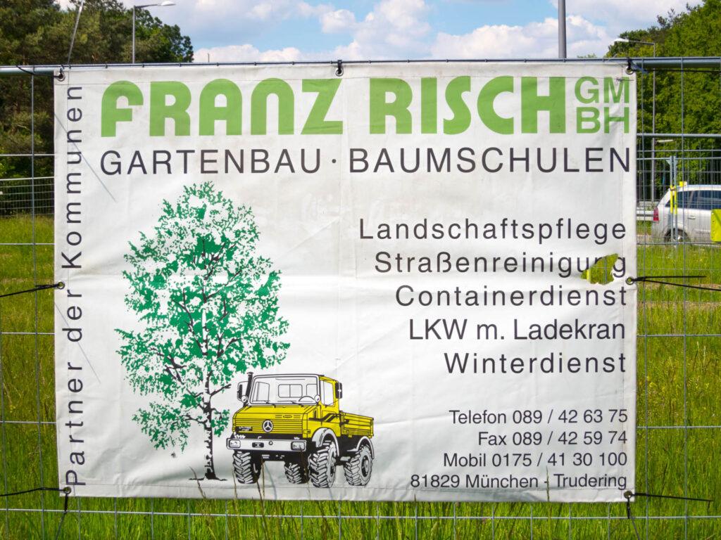 Heinrich-Wieland-Straße Franz Risch