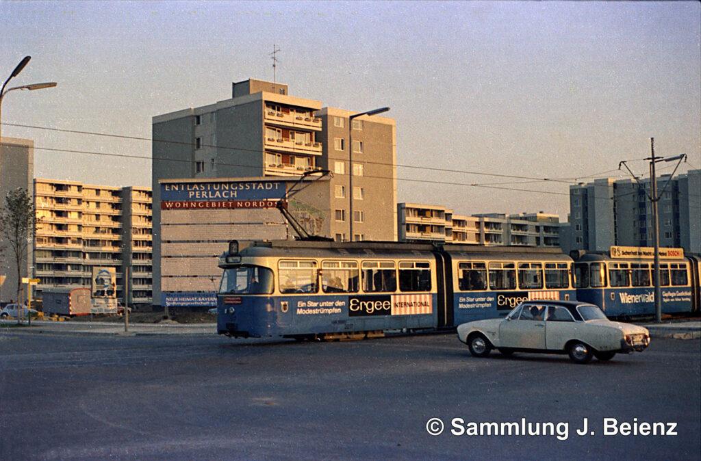 Eröffnung der Tram nach Neuperlach. Foto: Reinhold Kocaurek