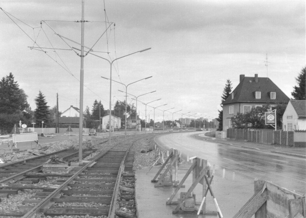 Tram Bau Feichtstraße