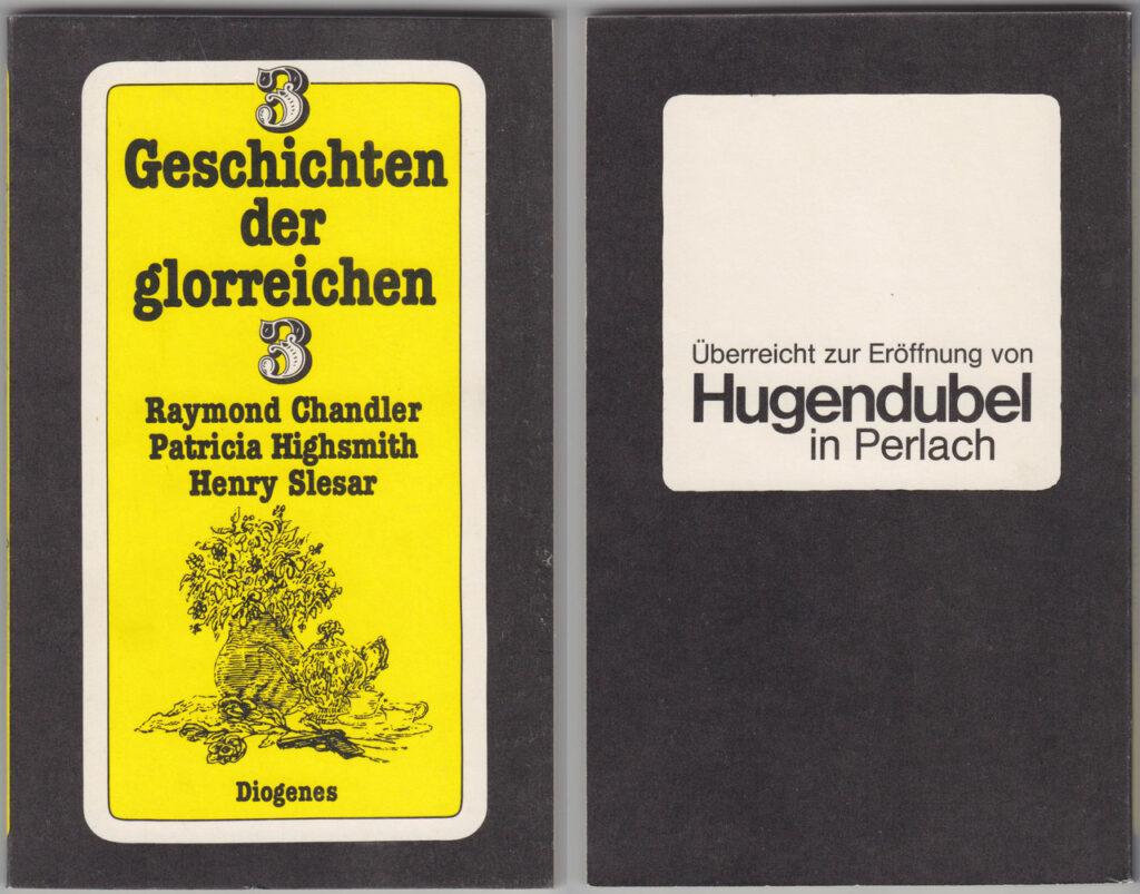 Hugendubel pep Eröffnungsgeschenk 1981