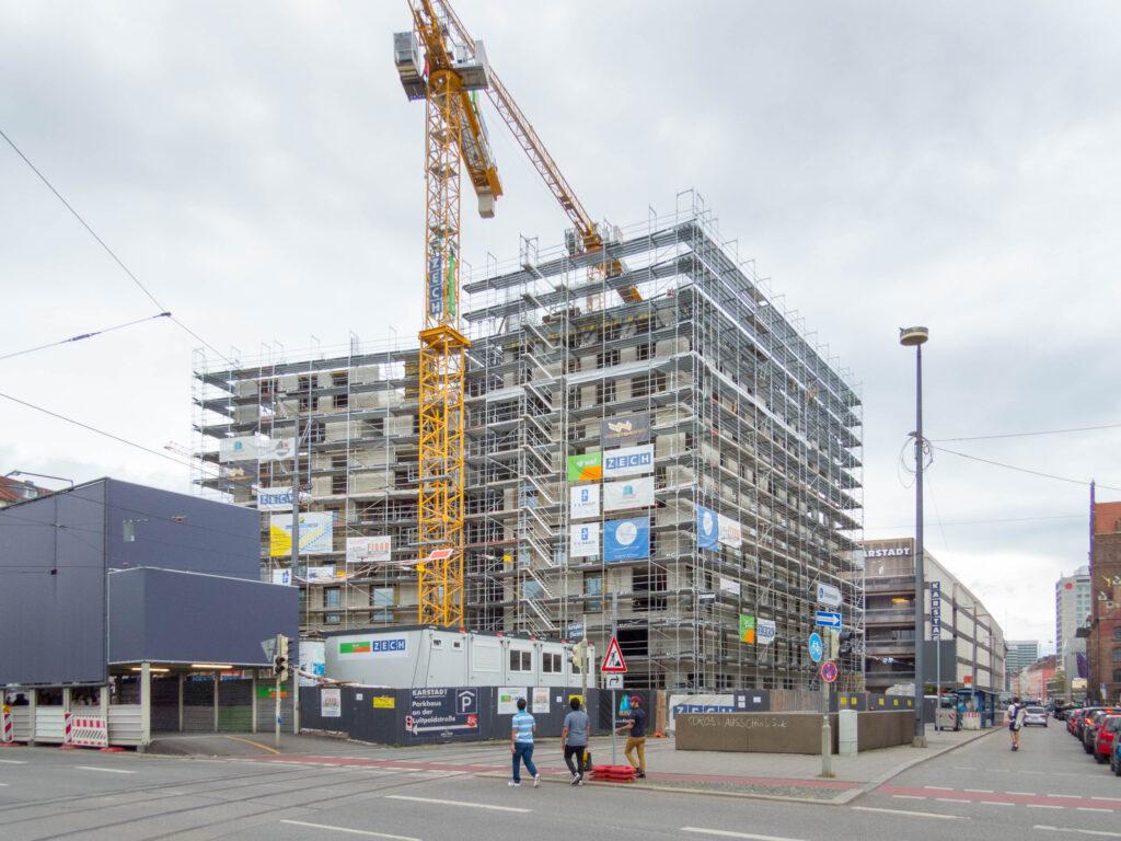 Neubau Hotel Königshof^