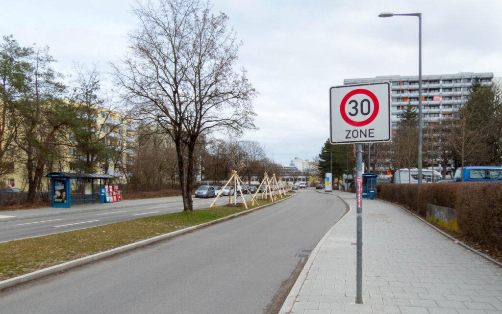 Aufforstung Kafkastraße
