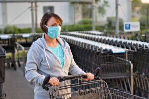 Einkaufen mit Maske