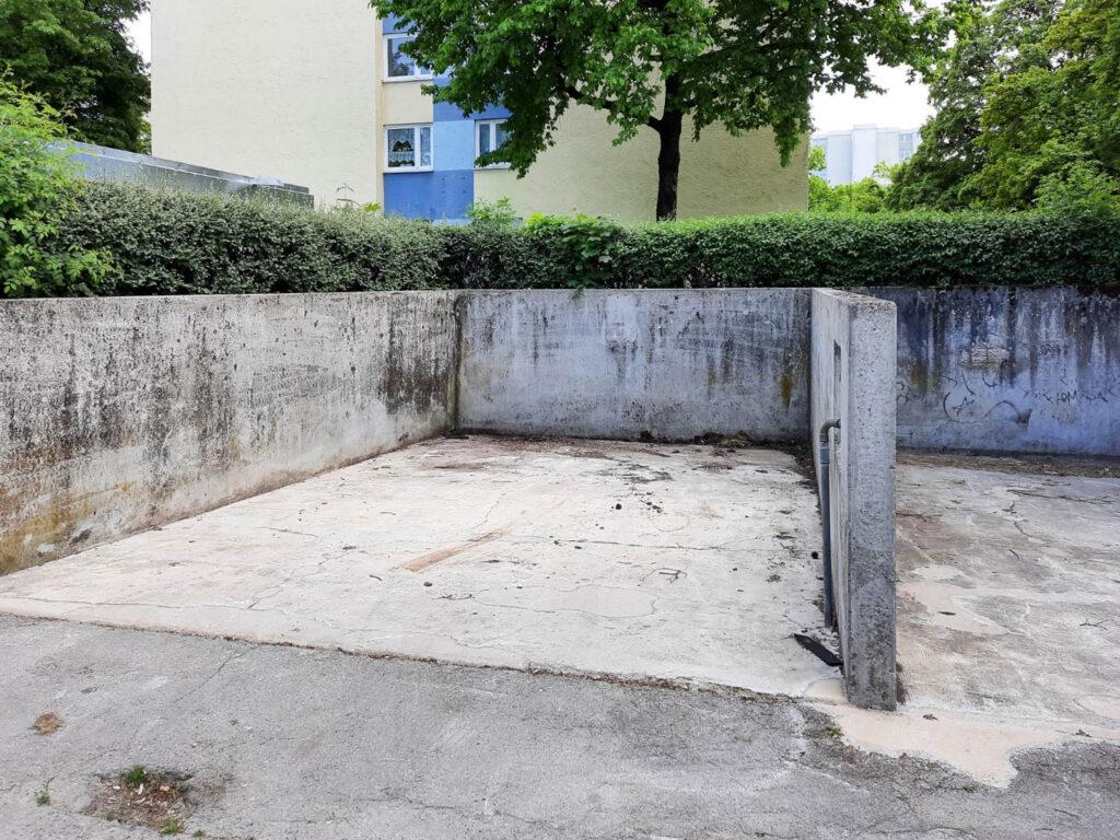 Waschboxen Karl-Marx-Ring, Ecke Heinrich-Wieland-Straße 1