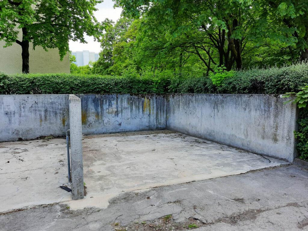 Waschboxen Karl-Marx-Ring, Ecke Heinrich-Wieland-Straße 2