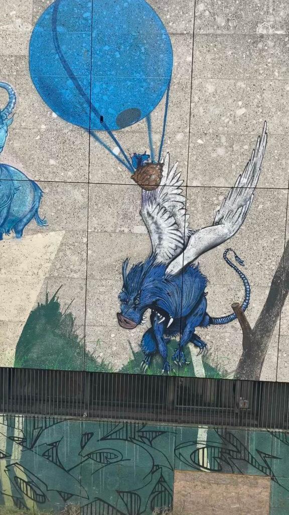 Graffiti Quidde-Zentrum