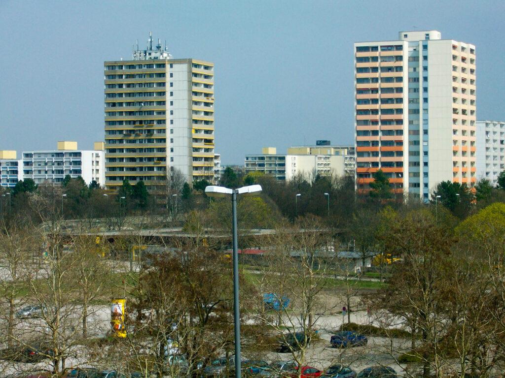 Zwillingstürme in Neuperlach