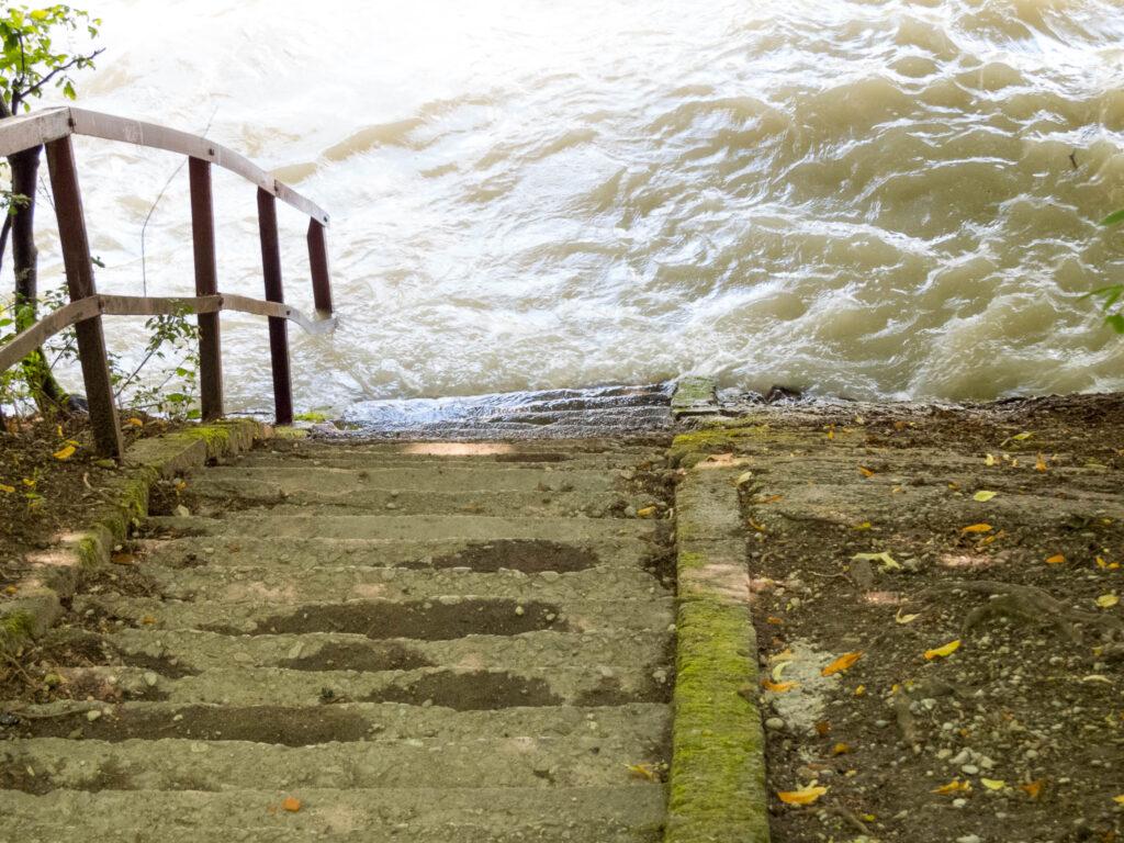 Isar-Hochwasser 2021