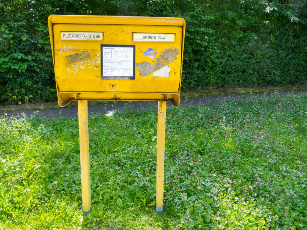 Briefkasten Emil-Nolde-Straße 6