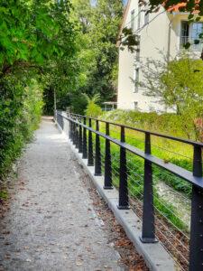 Hachinger Bach – Neuer Weg am Ballauf-Hof