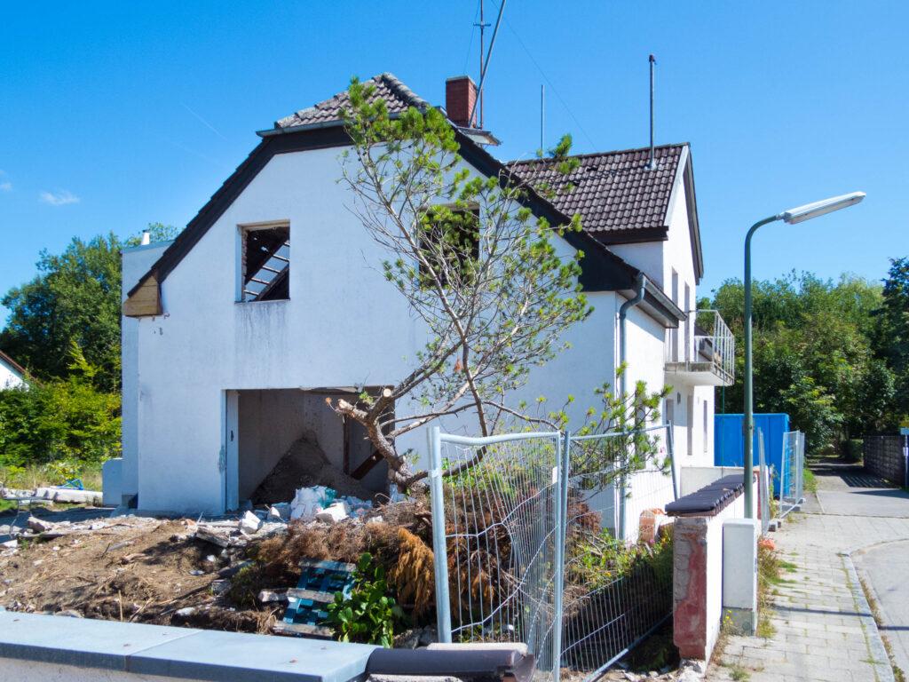 Siedlerhaus vor dem Wohnring