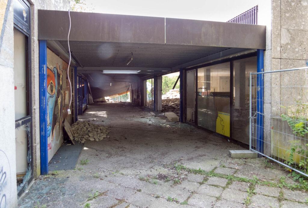 Abriss Quidde-Zentrum